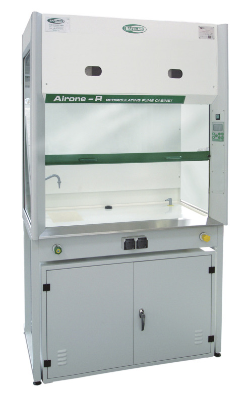 Fixed Filtered Lab Fume Cupboard Airone 1200R Filtration Edulab
