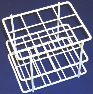 Test Tube Rack, Coated Wire, 15 x 16mm