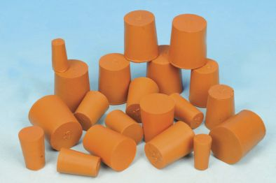 Rubber Stopper Solid 15x18x24  (Pk10)