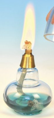 Bunsen Burner, Spirit with Wick (Glass) - Edulab