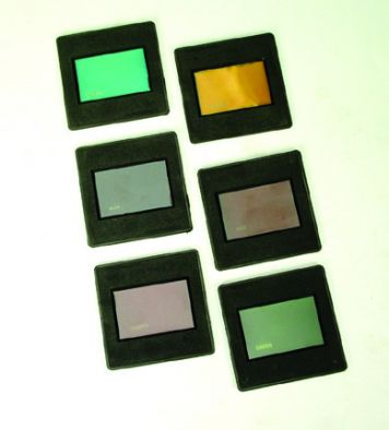 Raybox Colour Filters plastic mounted (Set 8)