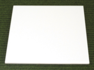 Spotting Tile, Ceramic,Plain. (Pk5)