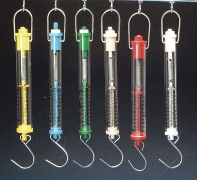 Forcemeter Tubular Balance Colour Coded (set 6)