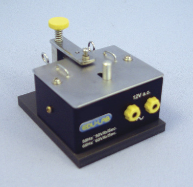 Ticker Tape Timer - 12V Black
