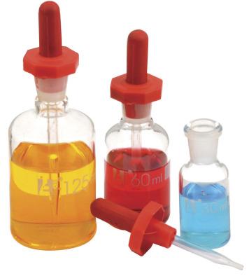 Dropper Bottle 125ml Clear    (Pk6)