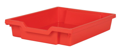 Gratnell Tray Shallow Red
