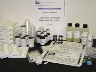 Consumer Chemistry Science Kit - In the Kitchen