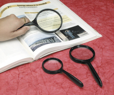 Magnifier, Reading Glass  75mm