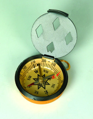 Compass, Pocket with cover 45mm dia