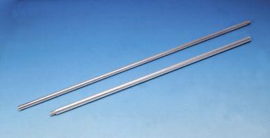 Retort Rod, Mild Steel, 10mm x1.5mm - 600mm