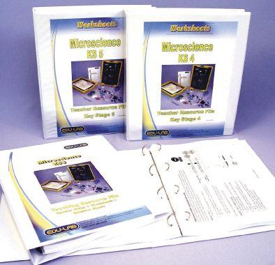 MicroChem Worksheets, Key Stage 5, in binder