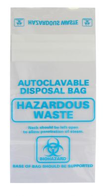 Autoclave Bag Disposable, 610x810mm (Pk 200) - Labelled