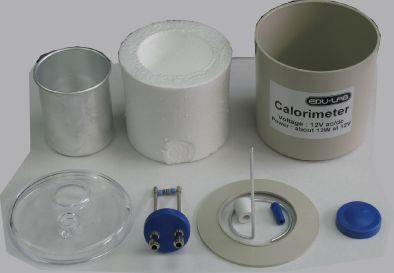 Calorimeter Set, Aluminium - Edulab