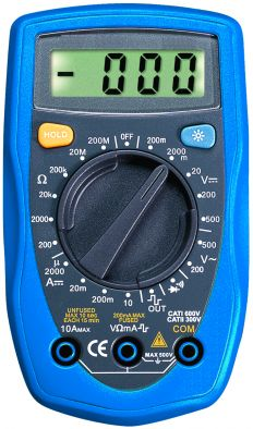 Multimeter, Digital, Standard
