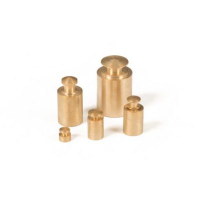 Brass Weights with Knobs 1g, 5g, 10g, 20g, 50g Weights