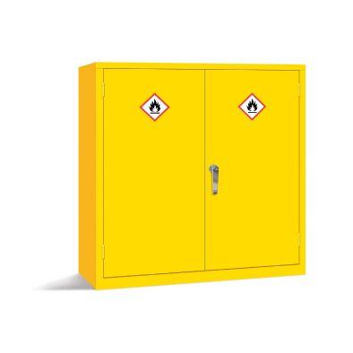 Hazardous Storage Cabinet Large  Horizontal Two Door