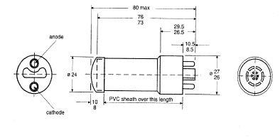 Geiger Muller Tube - Edulab