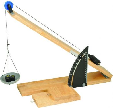 Inclined Plane with Friction Board