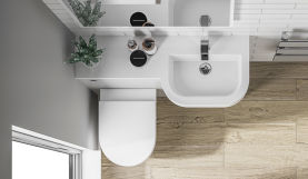 Basin available in LH and RH