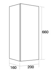 200 Single wall unit