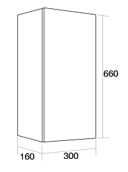 300 Single wall unit