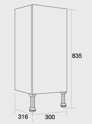 300 Single base unit