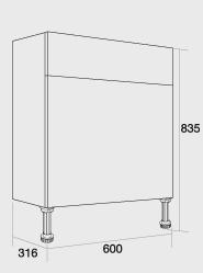 600 WC unit