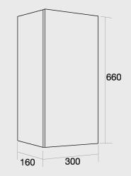 300 Single wall unit