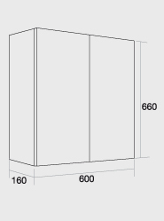 600 Double wall unit