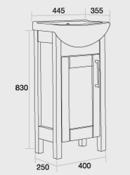 450 Sendai Vanity