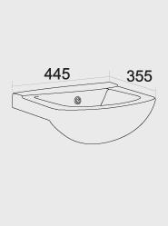 450 Ceramic Basin