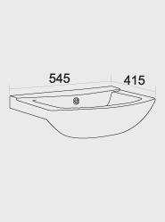 550 Ceramic Basin
