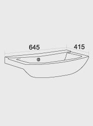 650 Ceramic Basin