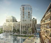 London Dock Development - Illustration