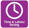Product Icon - Time & Labour Saving