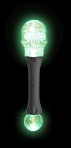 Flashing LED Skull Torch