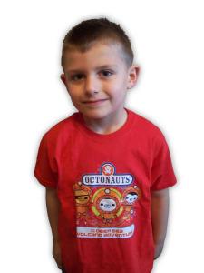 Octonauts Sea Cadet Red Tshirt