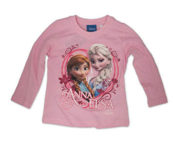 Anna & Elsa long sleeve pink T-Shirt