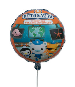 Octonauts and The Deep Sea Volcano Adventure balloon