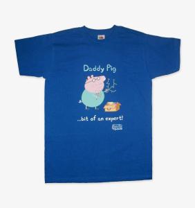 """Daddy Pig """"I'm An Expert"""" T-shirt"""