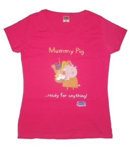 "Mummy Pig ""Ready For Anything"" T-Shirt"
