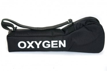 Black Oxygen Carry Case