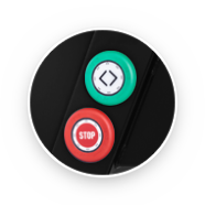 Touch Button Feed Controls Zoom