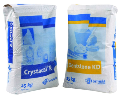 Crystacal R/Dentstone KD Plaster 3/1 Mix