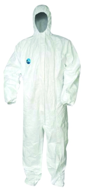 Tyvek Disposable Boilersuit Coverall