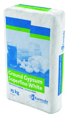 Ground Gypsum Superfine White