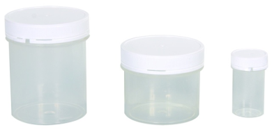 Plastic Jar c/w Lid