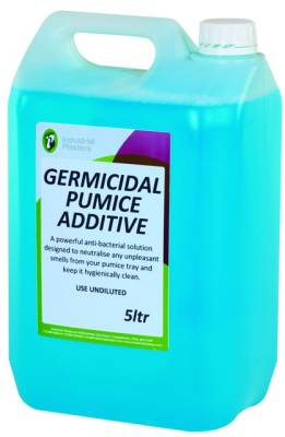 Germicidal Pumice Additive