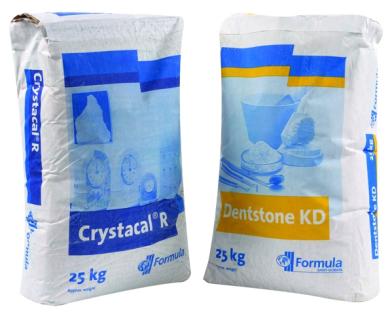 Crystacal R/Dentstone KD Plaster 3/1 Mix