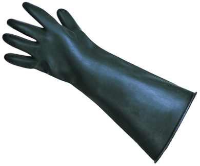 Rubber Armlength Gauntlet (Pair)